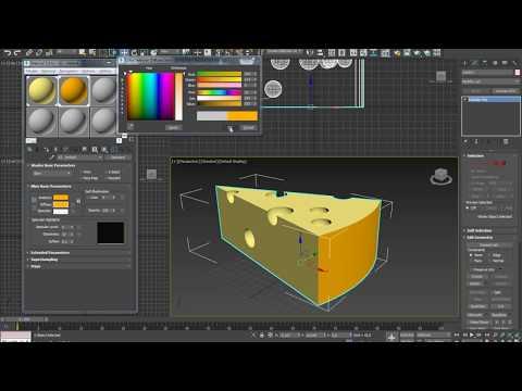 Как нарисовать кусок сыра с дырками