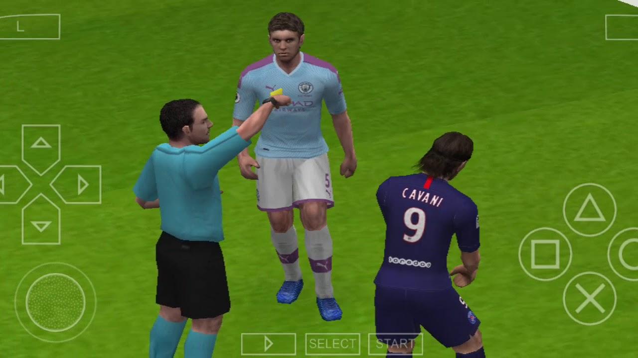 PSG vs Manchester City PES 2020 VERSION FINAL - YouTube