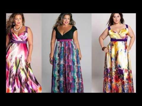 Платье для полных лето 2017