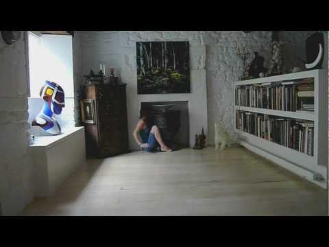 Ten seconds in an artists house