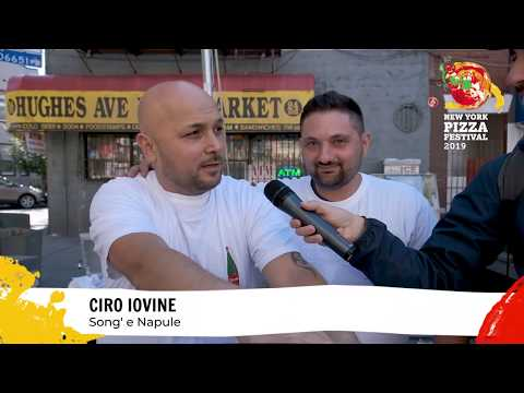 New York Pizza Festival 2019 - Ciro Iovine & Giuseppe Manco Interview