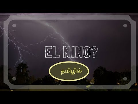 Did El Nino Affect Chennai? | Tamil Science