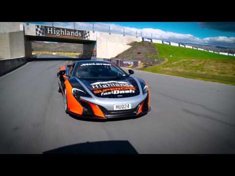 Highlands Supercar Fast Dash  - McLaren 650s And Lamborghini Rides