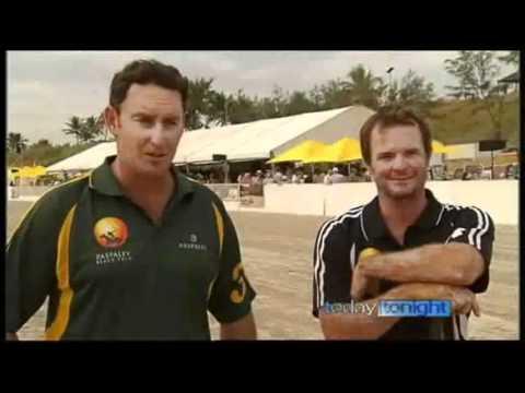 Broome Beach Polo 2011 (Today Tonight)
