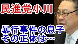 小川遥資の大学はどこ民進党小川勝也議員の秘書も不祥事