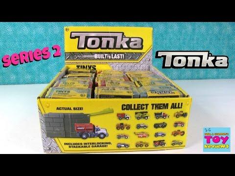 Tonka Tinys Series 2 4 Full Box Opening Blind Bag Fun | PSToyReviews