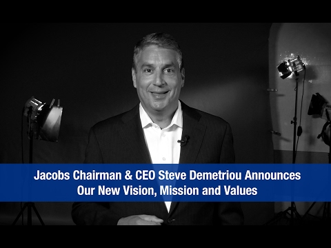 Jacobs Announces New Vision, Mission and Values