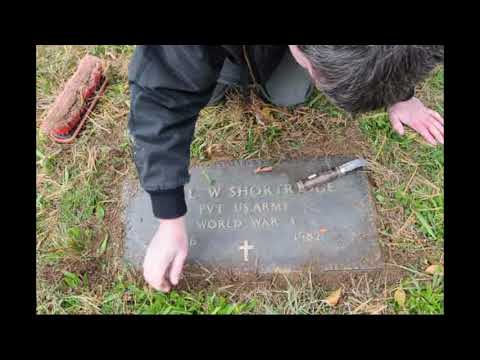 Gravesite Cleaning With Joe Shortridge