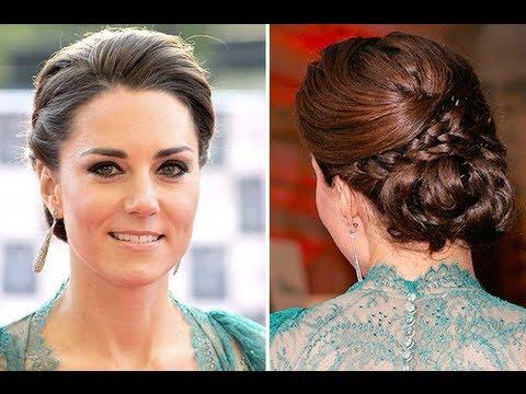 Kate Middleton Updo - YouTube