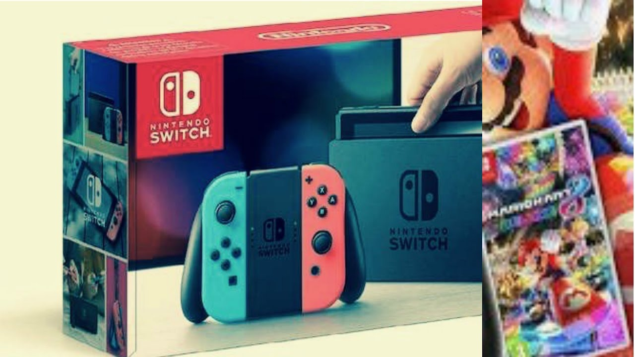 Nintendo Switch Dazu Mario Kart Amazon