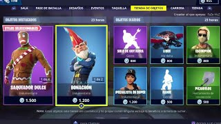 "*NEW SKIN ""BONACHON AND NEW PICO* FORTNITE 23/12/2018 DAILY STORE"