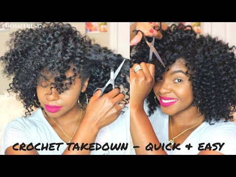 How To: Take Down Your Crochet Braids