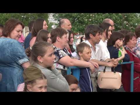 г  Сасово  9 мая 2019 г  Вечерний концерт