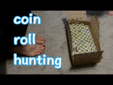 Coin roll hunting | Searching for Silver in $500 of half dollars