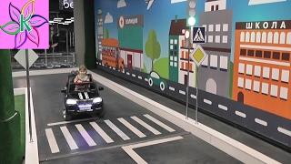 Арена Автогородок Кристина получила водительские права