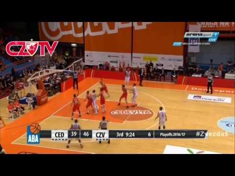 Player of the game: Deon Thompson   KK Crvena zvezda mts - Cedevita, game 3