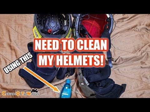 [BISAYA] NEED TO WASH/CLEAN MY HELMET AFTER SUMMER | CEBUANOONTWOWHEELS | AGV | LS2 METRO HELMET