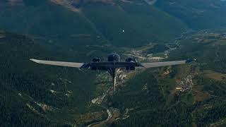 X-Plane 11 - De Courchevel à Sollieres - Sardieres - Aerobask Diamond DA62