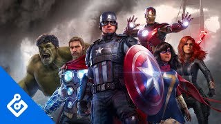 Watch Marvel's Avengers New Gameplay Reveal With Game Informer