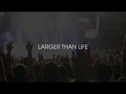 Ablaze Music - LARGER THAN LIFE (live)