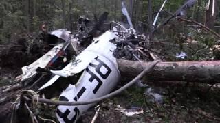 В Октябрьском разбился вертолёт Ми-8 Жуковского Авиационно-спасательного центра