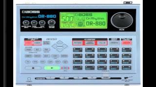 boss dr 880 dr rhythm drumcomputer examples