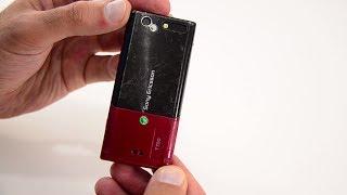 Sony Ericsson T700 (ретро обзор в 2017) / Арстайл /