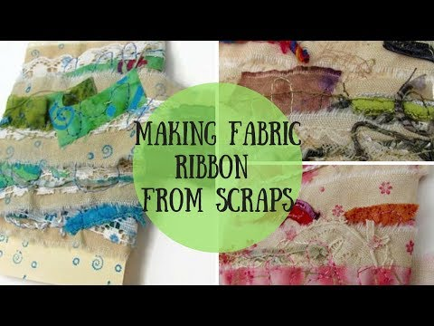 Making Fabric Trim From Scraps