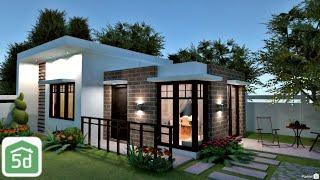 Single Storey Modern Exterior  Speed Build  In Planner 5d | Ayuh