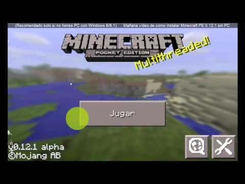 Tutos WP - Minecraft PE 0.12.1 para Windows Phone + descarga
