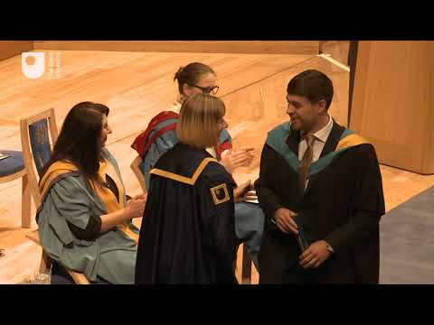 Manchester Degree Ceremony, Friday 5th October 2018, 10:30