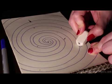 ✎__ Zentangle Saturdays ✎__  Up Close Relaxing Sketching - Pencil & Eraser Sounds (ASMR Art Video)