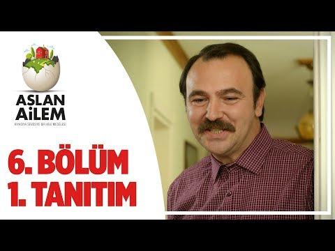 Aslan Ailem 6. Bölüm 1.Tanıtım (Her Pazar 20:00'de TRT1'de)