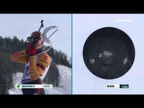Норвегия выиграла мужскую эстафету в Хохфильцене