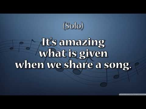 Why We Sing All Parts