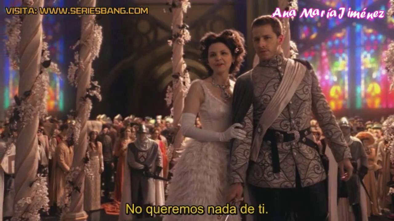 Matrimonio Tema Once Upon A Time : Once upon a time boda de snow sub español youtube