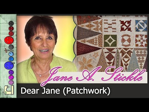 Dear Jane - Capítulo 1 (Patchwork)