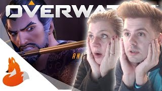 "MOM REACTS TO ""DRAGONS"" (Overwatch Cinematic)"