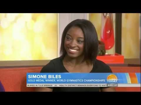 SIMONE BILES 17 - IN DEPTH INTERVIEW OF THE AFFIRMATIVE ...