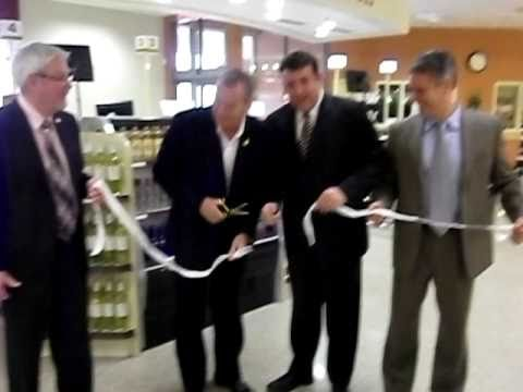 Grand opening of the New York Street Liquor Store in Frederi
