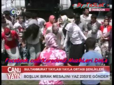Sultanmurat Yayla Şenlikleri - 2011- Sinan Sami - Horon ( Potpori )