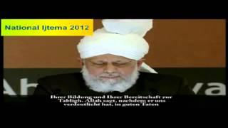 National Ijtema 2012 - Khuddam ul Ahmadiyya - Germany - 12. - 14. Oktober - Karlsruhe