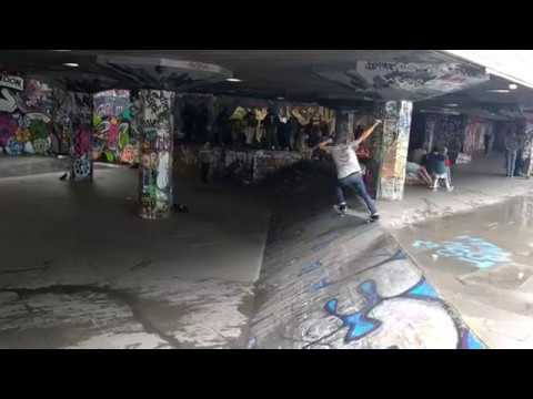 Southbank Skatepark London 2017