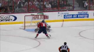 alex ovechkin awesome shootout goal against predators capitals feed