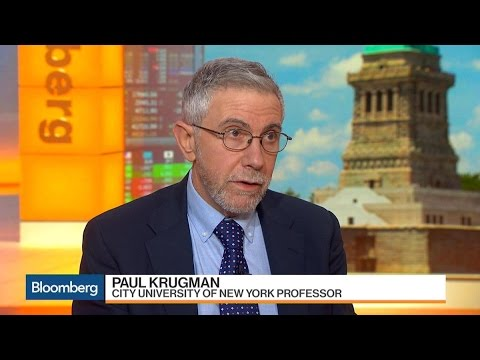 Nobel Economist Paul Krugman on Dodd-Frank, Fed Rates