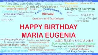 MariaEugenia   Languages Idiomas - Happy Birthday