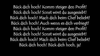 Deichkind - Bück Dich Hoch Lyrics