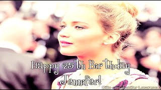 HAPPY 25th BIRTHDAY JENNIFER LAWRENCE