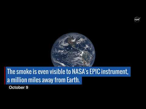 NASA Satellites See Wildfires from Space
