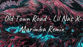 Old town road - lil nas x (marimba remix) ringtone